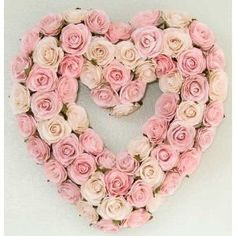 ...pink rose wreath