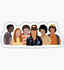 Stranger Things stickers featuring millions of original designs created by independent artists. Stickers Kawaii, Preppy Stickers, Pop Stickers, Red Bubble Stickers, Tumblr Stickers, Printable Stickers, Stranger Things Tumblr, Stranger Things Logo, Stranger Things Season
