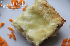 Mix and Match Mama: Bar 79: Carrot Cake Neiman Marcus Bars