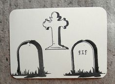 gravestone poly stamp $18.00