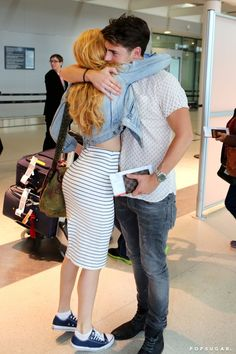Pin for Later: Bella Thorne and Gregg Sulkin Have the Best Couple Airport Style