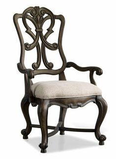 Rhapsody Wood Back Arm Chair | Home Gallery Stores