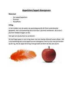 Klasbouwers - teambouwers : appelsien Seo, Fruit, Gymnastics