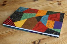 Double sided colorful patchwork Notebook/Journal by havito on Etsy, €18.00