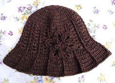 Stitch of Love: Pattern For My Ridge Hat With Brim