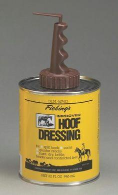 BND 277177 FIEBING COMPANY INC D - Hoof Dressing W Brush Top Appl 088-30302/HFDR00A03 by BUYNOWDIRECT. $19.99