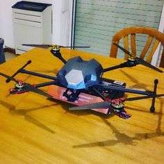 album photo drone jindurain Ooh seee El Renegado tiene forma! #quadcopter #diy #drone by jindurain Fly Me.