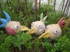 1000 images about t pfern on pinterest birdhouses fairy houses and ceramics - Gartenkeramik topfern ...