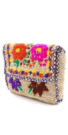 Cleobella Bali Clutch; looks like it would make a good cover for an e-reader