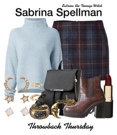 Sabrina the Teenage Witch by sparkle1277 on Polyvore featuring polyvore, fashion, style, Le Kasha, Maje, Loren Olivia, Billabong, Mimco and clothing