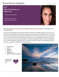 Anna's Inspirational Blog   Come and join her blog today<3