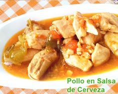 pechugas de pollo en salsa de cerveza - fácil Kung Pao Chicken, Carne, Chicken Recipes, Meat, Ethnic Recipes, Food, World, Recipes With Chicken, Dips