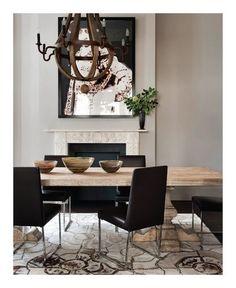 Dining Room by @maddux_creative | Best UK Designers. Interiors. Modern Living. | #UKdesign #homedecor #diningroom | More inspiration at: https://www.brabbu.com/en/inspiration-and-ideas/