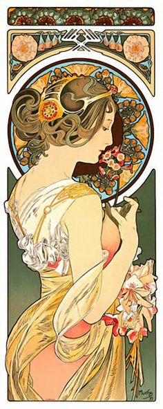 Illustration de Mucha.