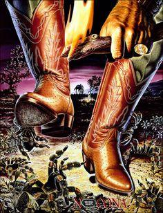 Nocona Boots Heroes Poster - Tarantula