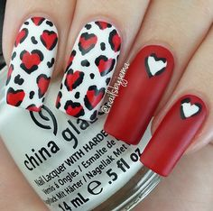 Leopard Print Hearts for Valentines Day ♥