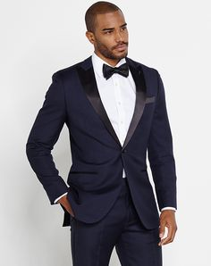 The Black Tux The Holden Outfit Blue Tuxedo
