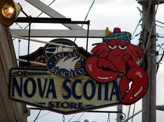 World Travel Photos :: Shop-Signs :: Lunenburg.