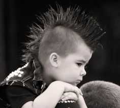 Spike Mohawk and Buzzed Sides - Toddler Boy Haircut