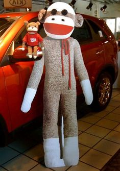 Dollar Store Crafts » Blog Archive » DIY Sock Monkey Costume