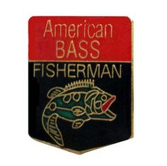 """AMERiCAN BASS FISHERMAN vintage enamel pin fishing trophy fish lapel cloisonne hat tie pin by VintageTrafficUSA  11.00 USD  A vintage FISHING pin! Excellent condition. Each measures: approx 1"""" 20 years old hard to find vintage high-quality cloisonne lapel/pin. Beautiful die struck metal pins with colored glass enamel filling. -------------------------------------------- SECOND ITEM SHIPS FREE IN USA!!! LOW SHIPPING OUTSIDE USA!! VISIT MY STORE FOR MORE ITEMS!!! http://ift.tt/1PTGYrG FOLLOW…"""