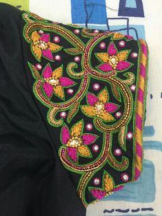 Best Blouse Designs, Saree Blouse Neck Designs, Bridal Blouse Designs, Hand Work Blouse Design, Aari Work Blouse, Traditional Blouse Designs, Maggam Work Designs, Sari Design, Designer Blouse Patterns