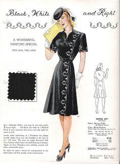 Harford Frocks Style Card