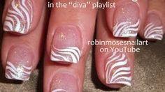 Robin Moses Nail Art - Nail Art Tutorials, Nail Designs, Easy DIY Nail Art Ideas, Nails - YouTube