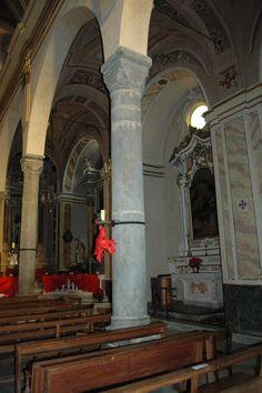 Perinaldo (IM) Chiesa Parrocchiale di San Nicolò int.