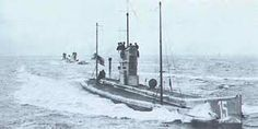 A U-boat (Unterseeboot) that was used by the Germans during WW1. The U-boats were used to interfere with the trade routes of the Entente Powers. It was mostly based around the British Isles and the Mediterranean Sea.
