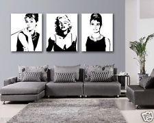 audrey hepburn canvas painting - Google Search
