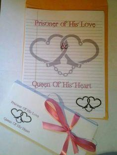 Cute letter ideas for boyfriend in jail