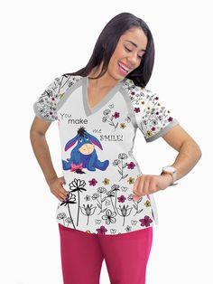 IMG-PRODUCT Nursing Clothes, Nursing Scrubs, Floral Tops, Superhero, Caregiver, Stuff To Buy, Irene, Women, Shoes