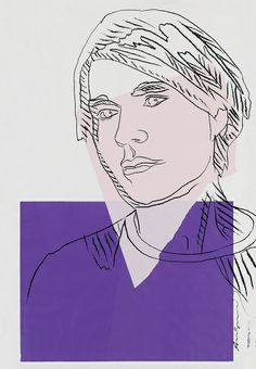 Andy Warhol. Self-Portrait.