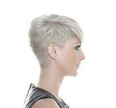Shaved Pixie Hairstyle
