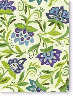 Botanica Bay Fern Susan Sargent outdoor fabric 54 inches wide