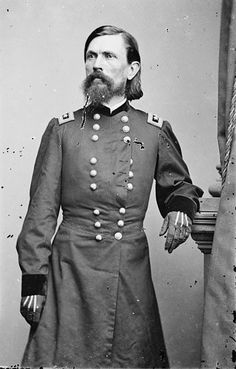 Thomas Leonidas Crittenden (May 15, 1819 – October 23, 1893) was a lawyer, politician, & Union general during the American Civil War. Crittenden was born in Russellville, Kentucky, the son of U.S. Senator John J. Crittenden, brother of Confederate general George B. Crittenden. He was admitted to the bar & served in the US Army during Mexican-American War as a volunteer aide to General Zachary Taylor & as lieutenant colonel of the 3rd Kentucky Volunteer Infantry.