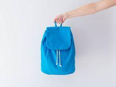 Nähpaket DIY-Kit Rucksack - Türkis von DIY Sewing Academy auf DaWanda.com