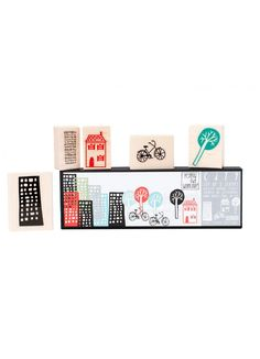 City Stamp Set - PLAY - Products : Fawn Shoppe - Global Boutique For Unique Children's Designs