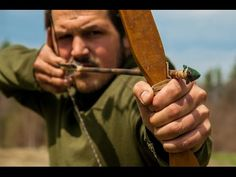Osage Bow Building , Primitive Arrow Making, & Flintknapping - YouTube