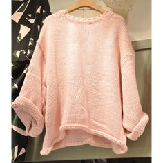 Wholesale Trendy Round Neck Solid Color Long Sleeve Sweater For Women Only $7.62 Drop Shipping   TrendsGal.com