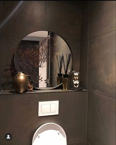 Sober Living, Home And Living, Bathroom Interior Design, Interior Decorating, Small Toilet Room, Elegant Homes, Bathroom Inspiration, Sweet Home, New Homes