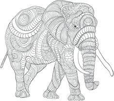 Elephant Coloring Pages for Adults . 30 Elephant Coloring Pages for Adults . Elephant Coloring Pages for Adults Best Coloring Pages for Kids Coloring Pages For Grown Ups, Cool Coloring Pages, Mandala Coloring Pages, Animal Coloring Pages, Coloring Books, Coloring Sheets, Elephant Colouring Pictures, Elephant Coloring Page, Mindfulness Colouring