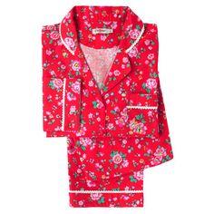 Bramley Sprig Large Flannel Long PJ Set #CKcrackingchristmas