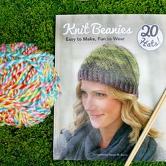 """Purchase a signed copy of my book """"Knit Beanies"""" from my shop! Buy it for yourself or your favorite knitter. Or enter to win a copy along with a surprise hat featured in the book! Click here to enter - blog.twinkiechan.com/2016/06/07/knit-beanies/"""
