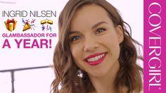 CoverGirl Cosmetics : Back To School Makeup Tutorial with Ingrid Nilsen (Aug 2015)