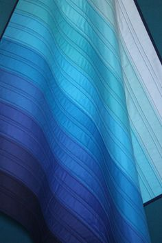 Custom Ombre Baby Quilt  Any Color by PeasnCarrotsBaby on Etsy, $100.00