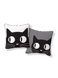 Naked Decor - Big Eyes Cat Pillow | VAULT