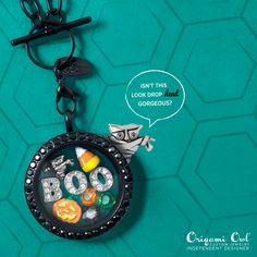 Mom, Mom, Mom,Mom, Mummy, Mummy...Are Mummy enough to handle this look?? Be drop DEAD gorgeous in time for Halloween with Origami Owl!! #boo #jackolantern #mummy #owl #candycorn #dead