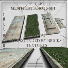 Mesh Build Platform 4 set Full perm